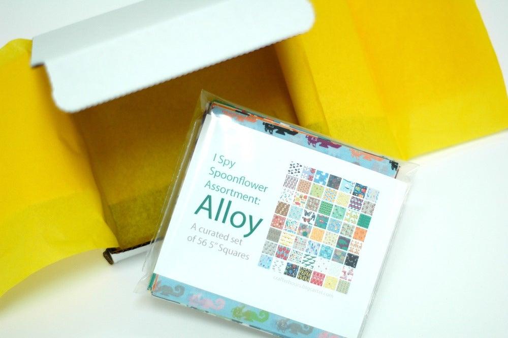 Image of Spoonflower I Spy Assortment: Alloy Set