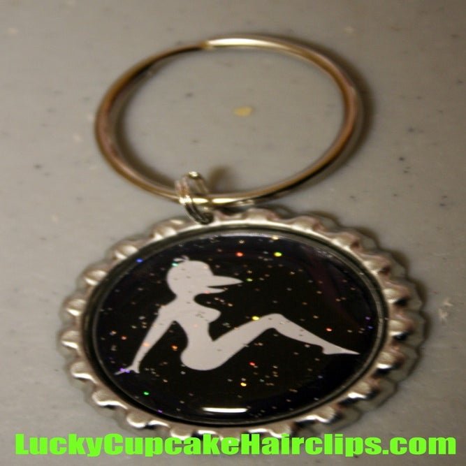 Image of Bottle Cap Keychain