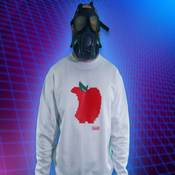 Image of 8ight Bite Apple Crew-White