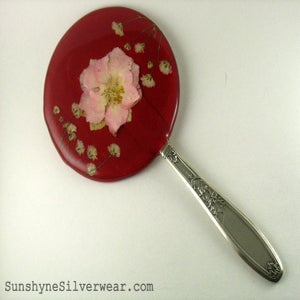 Image of Vintage Style Hand Mirror