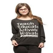 Image of TEAM BHG Long-Sleeve Women's Black T-Shirt