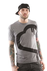Image of BHG Grey and Black Buy a Heart Give a Heart T-Shirt