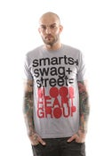 Image of BHG Streets Smart Swag Grey T-Shirt