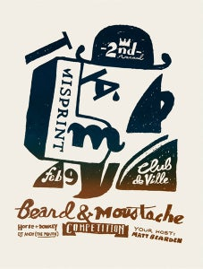 Image of 2nd Annual Misprint Beard & Moustache Contest