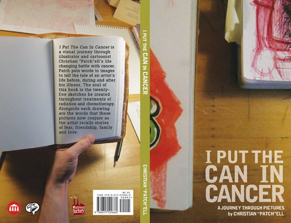 "Image of ""I Put the Can in Cancer: A Journey Through Pictures"" by Christian ""Patch"" Patchell"