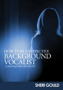 Image of How to Be an Effective Background Vocalist (Team Vocals) DVD