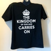 Image of The Kingdom v-neck t-shirt