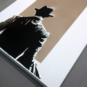 Image of WALK AWAY CANVAS ORIGINALS by Scott King