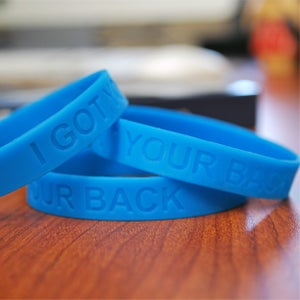 """Image of The Sobering Truth--""""I Got Your Back"""" Wristband"""
