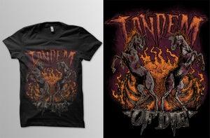 Image of TANDEM OF DIE | ATTACKWORKS T-Shirt