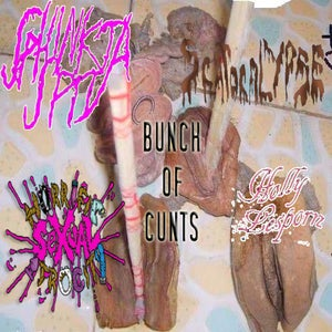 Image of Bunch Of Cunts 4-Way Split