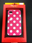 Image of Kate Spade LE PAVILLION Case (Pink/White)
