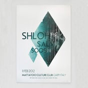 Image of Shlohmo / Salva / Soosh Poster-gig