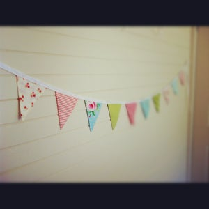 Image of Bespoke Bunting - Home decor