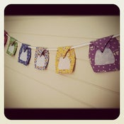 Image of Owl Bunting - Bespoke Home Decor