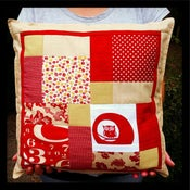 Image of Bespoke Patchwork Cushion
