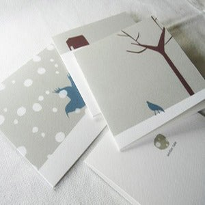 Image of Winter tale greeting cards