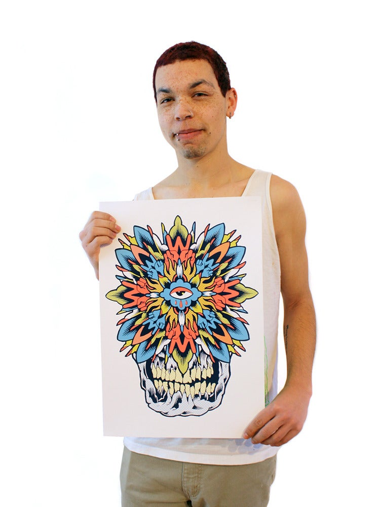 Image of Poster - WLH2 Mandala