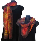 Image of Silk Scarf 06