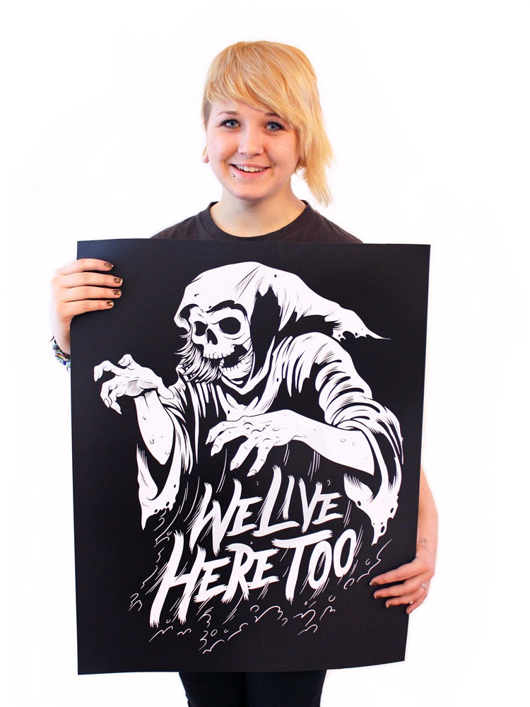 Image of Poster - Go Go Ghoul