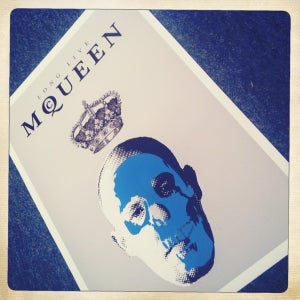 Image of LONG LIVE McQUEEN By Ads
