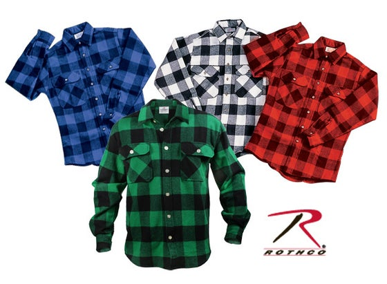 Image of Rothco FLANNEL SHIRTS #4739