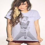 Image of Chloe Unisex T-Shirt - Grey