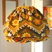 "Image of 1970s Lucy ""mop cap"" lampshade"