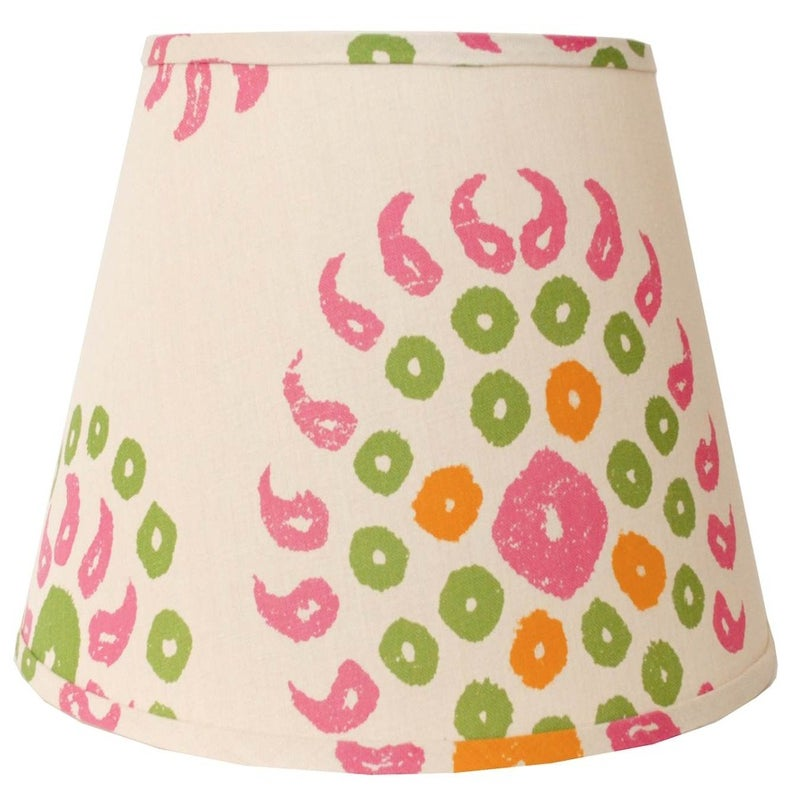"Image of 20"" Marrakech Lampshade: Natural/Bubblegum Pink"