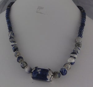 Image of Lapis Lazuli and Sodalite Necklaces