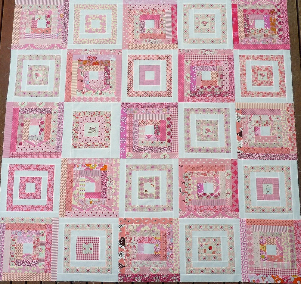 Image of Georgia's Quilt Pattern (pdf file)