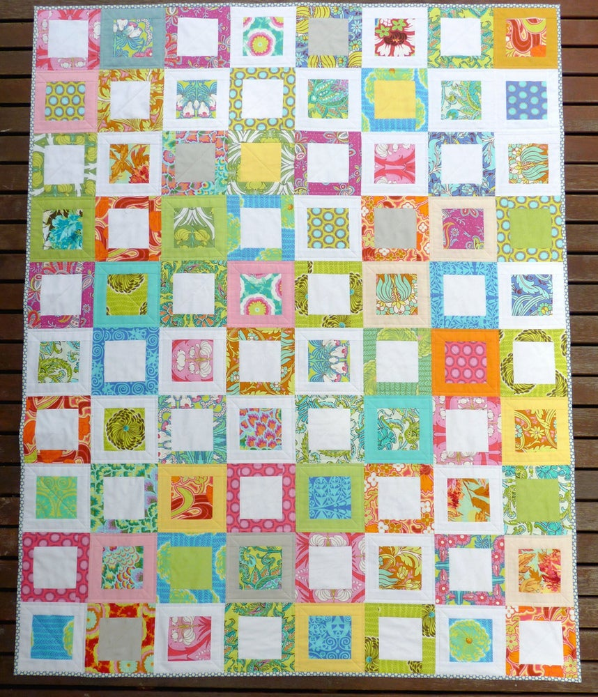 Image of Sweet Daisy Quilt Pattern (pdf file)
