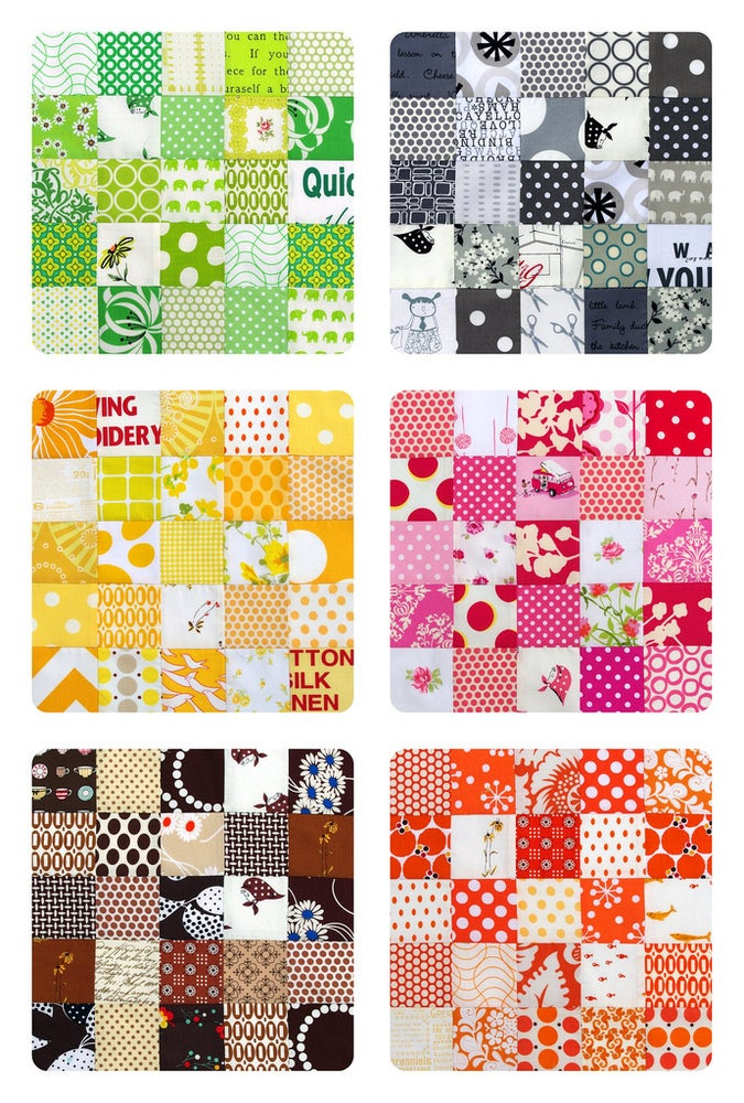 Image of Quilter's Palette Quilt Pattern (pdf file)