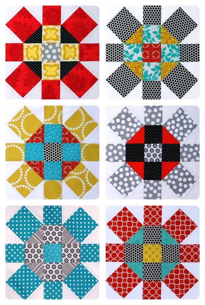 Image of Labyrinth Quilt Pattern (pdf file)