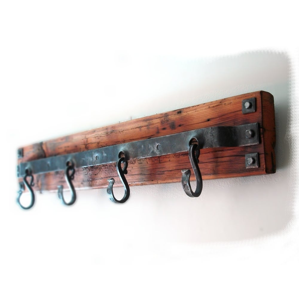 Image of Hand Forged Coat Rack