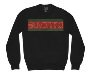 Image of LIVE GUCCI CREW NECK SWEATSHIRT BLACK