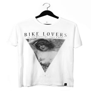 Image of Bike Lovers - Unisex Bamboo Cotton