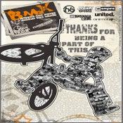 "Image of ""BMX AROUND THE WORLD"" Poster"