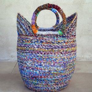 Image of Recycled Bolga Basket