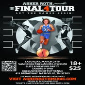 Image of Asher Roth Tickets #Final4Tour @ Nashville, TN 3/24/12