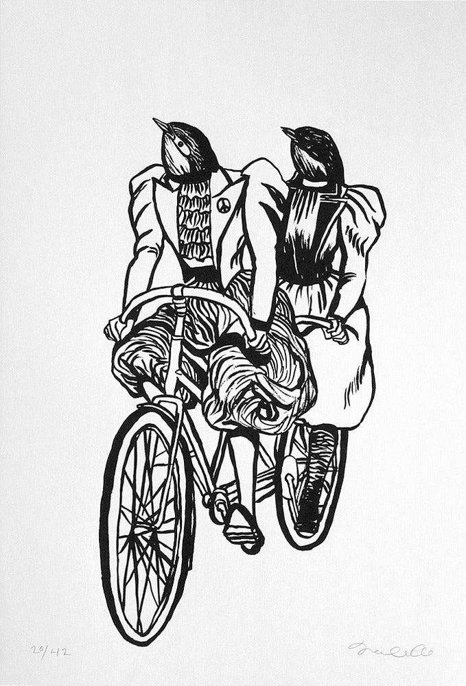 Image of Deedee Cheriel - Serigraph Print
