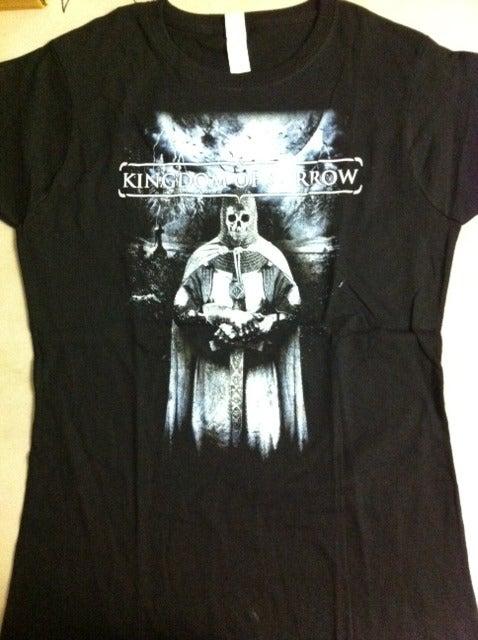 "Image of Kingdom Of Sorrow ""Knight Reaper"" Babydoll Shirt"