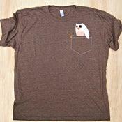 Image of Pocket P'Owl Unisex T-Shirt (Adult)