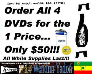 Image of GET ALL FOUR DVDs for $50~! Specials!!!