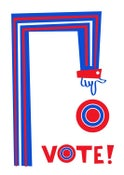 Image of Vote! Silkscreen Poster