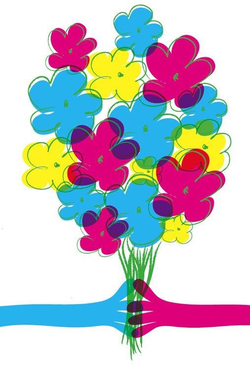 Image of Summer 2009 Flowers Art Print