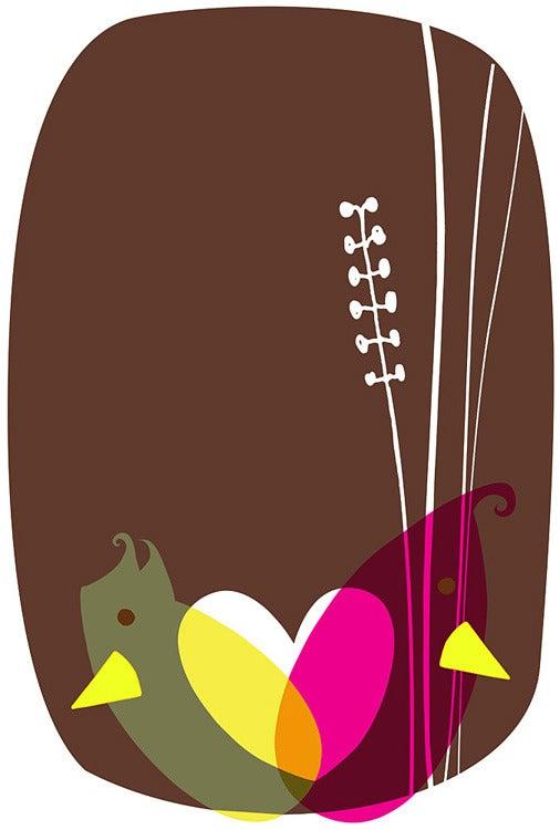 Image of Love Birds Art Print