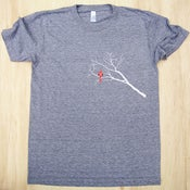 Image of Cardinal and Branches Unisex Tee (Adult)