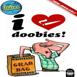 Image of New i love doobies!™ Wristbands grab bag