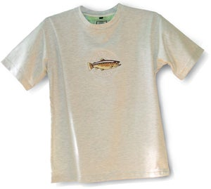 Image of Brown Trout Logo T SHIRT